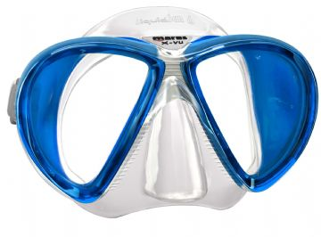 Mares - X-VU Liquid Skin Silicone Twin Lens Wide View Scuba Diving Mask